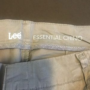 Lee Pants - Grey Lee Essential Chinos